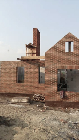Строительство дома. Фото - 1